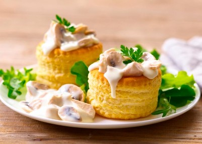 Vol-au-vent of Pasteibakjes